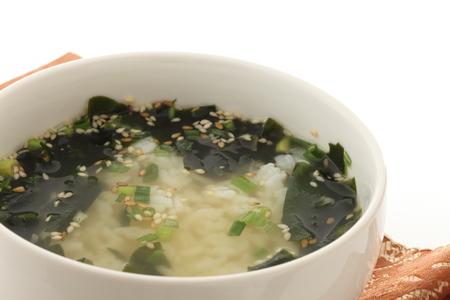 korean wakame soup Stock Photo