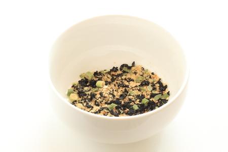 korean instant seaweed soup on bowl Stock Photo
