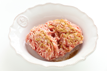 Cumin and mince pork for prepared ingredient image