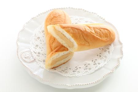 Butter cream bun Stock fotó