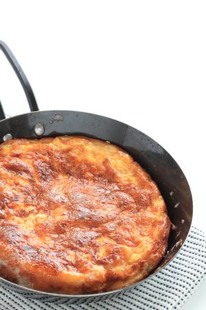 Homemade Spanish omelete