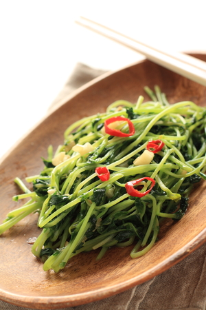 Chinese vegetable and soy sprout Stockfoto - 117452723