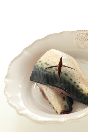 Freshness Japanese mackerel