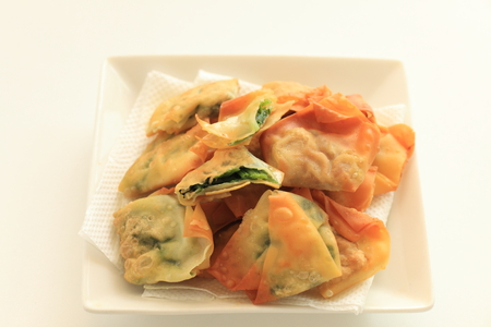 Chinese dumpling, deep fried wonton
