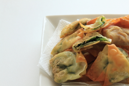 Deep fried Wonton for dim sum image