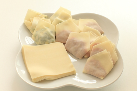 Wonton skin and dumpling ingredient image