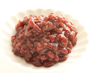 Asian food ingredient, red bean paste