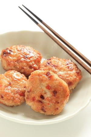 Chinese Food, chicken patty