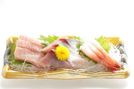 Japanese gourmet, raw food Sashimi Toro