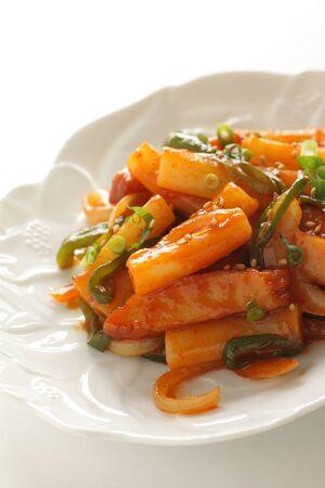 Tteok-bokki for korean food image