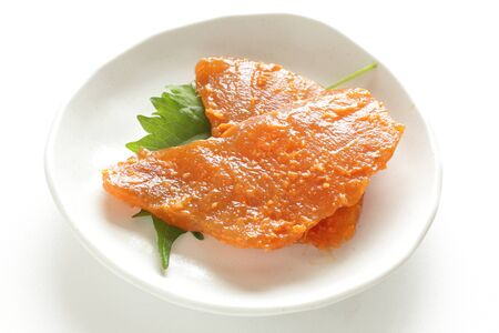 Japanese food ingredient, marinated swordfish fillet