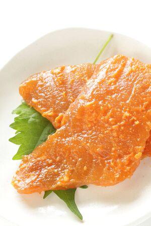 miso and swordfish marinated