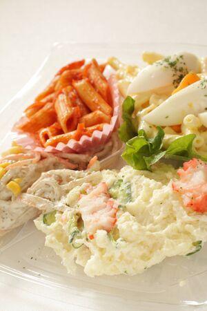 Assorted salad for party food image Reklamní fotografie