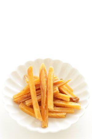Japanese food, Deep fried sweet potato