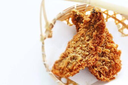 Japanese food, deep fried horse mackerel cutlet