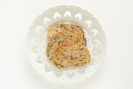 Homemade sesame rush toasted french bread