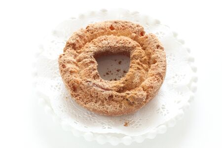 Doughnut on white background 写真素材