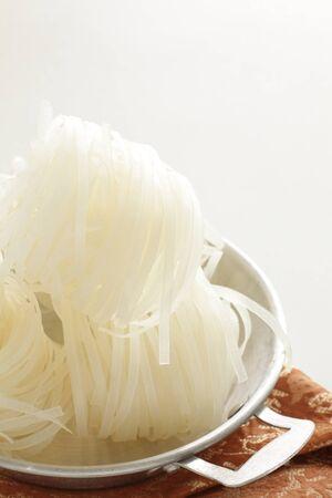 Vietnamese food, pho rice noodles