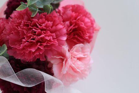 artificial carnation bouquet