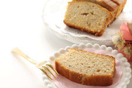Homemade, Tea Pound Cake Stock fotó