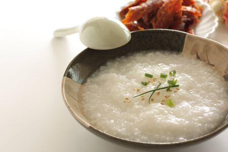 Chinese food, homemade rice oeme Stock Photo