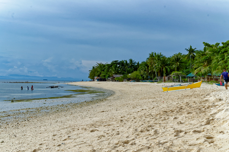 take charge: The Badian Beach in Cebu. It may take 4 hours of driving to reach this beach from Cebu City but its worth it.  Theres no charge to go there and rooms in local small resorts are affordable