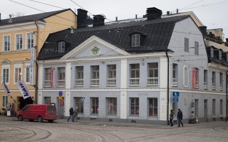 Helsinki, Finland - December 21, 2013 - Sederholm House