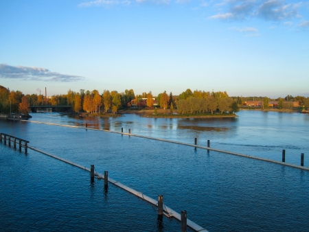 Summer in Joensuu, Finland photo