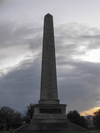 wellesley: Dublin, Ireland - Wellington Monument in Phoenix Park Editorial