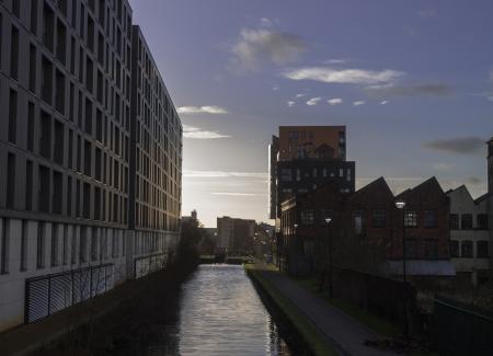 waterside: Ashton Canal Editorial