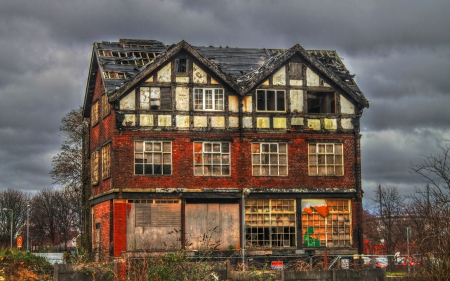 Abandoned House in Manchester HDR photo
