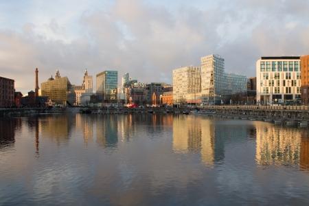 The Albert Dock in Liverpool, England, United Kingdom photo