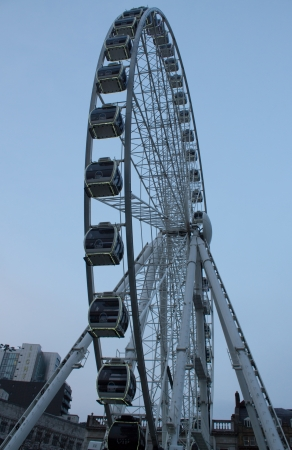 piccadilly: Manchester Ferris Wheel, Piccadilly Gardens