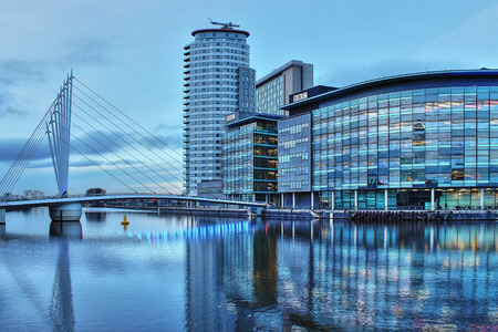 BBC Studios in MediaCityUK, Manchester, England