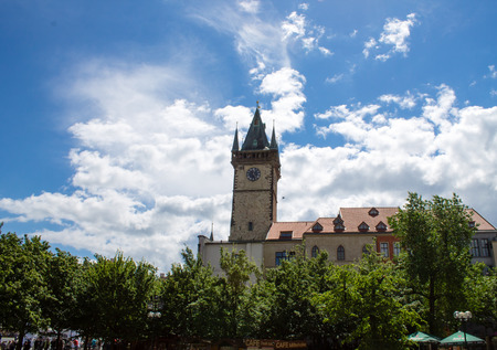 old town square: Town Hall, Old Town Square, Prague, Czech Republic