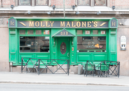 Molly Malone's Irish Pub in central Helsinki, capital of Finland.