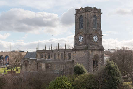 Gateshead Visitors Centre, also known as St. Mary's Heritage Centre, at former St. Mary's Church. Editorial