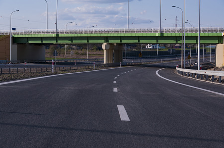 New road under construction