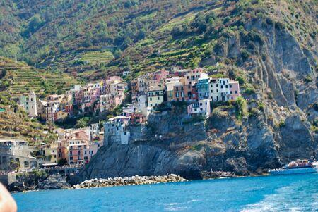 Cinque Terre, Italian coast of Liguria