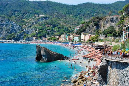 Monterosso al Mare in the Italian Liguria