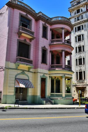 beautiful and colorful streets of Havana, 500th anniversary of the foundation of the city