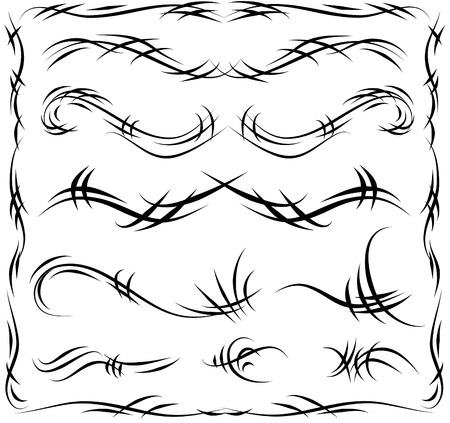 Decorative Line art