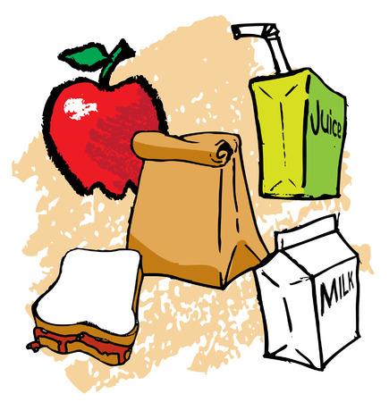Kids School bagged Lunch