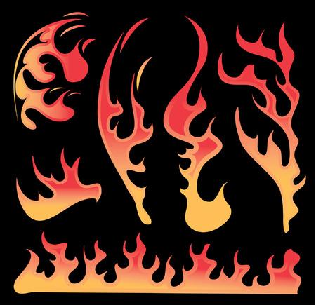 fuoco e fiamme: Fuoco Fiamme caldo