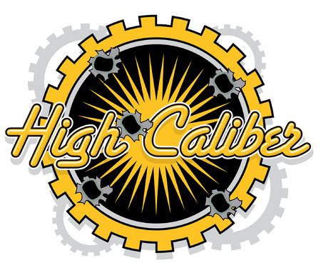 Mechnical Bullet hole High Caliber