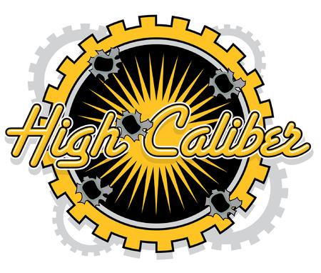 caliber: Mechnical Bullet hole High Caliber