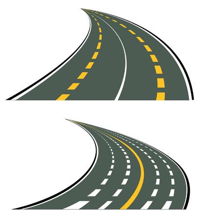 Road Highways Vector