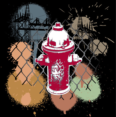 spraypaint: Abstract design of urban Spraypaint city Street hip hop