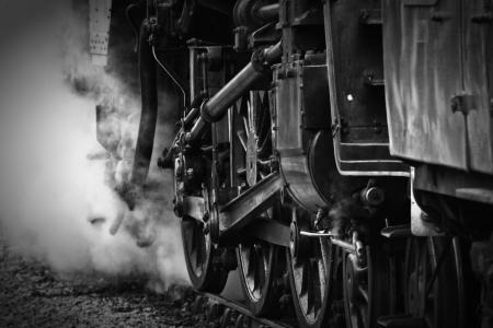 Steam Train Фото со стока