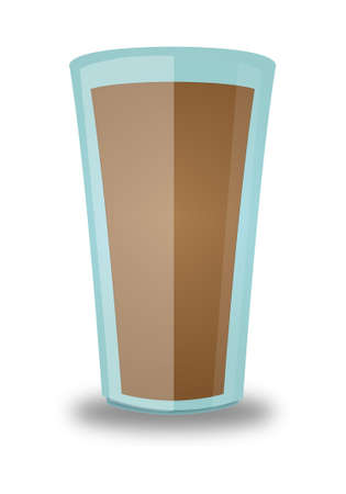 refrigerant: Chocolate Beverage Glass